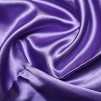 Purple Satin High Sheen Fabric 0.5m