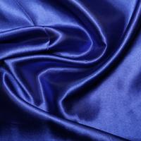 Royal Blue Satin High Sheen Fabric 0.5m