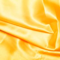 Yellow Satin High Sheen Fabric 0.5m
